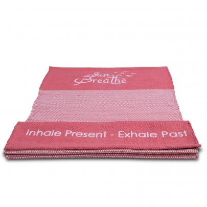 Premium Just Breathe Organic Cotton Yoga Mat