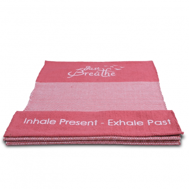Premium Just Breathe Organic Cotton Yoga Mat