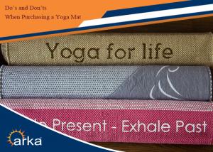 purchasing yoga mat